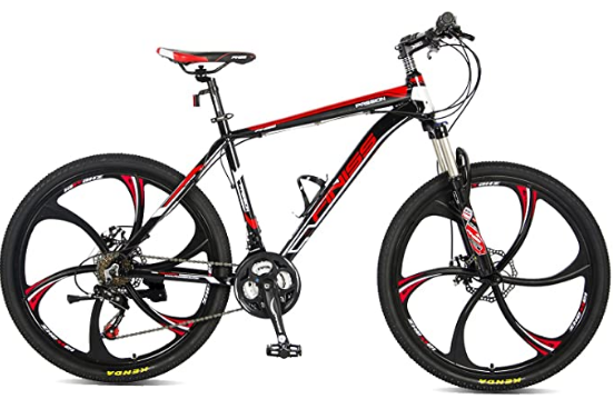 Merax FT323 Mountain Bike 21 Speed Full Suspension