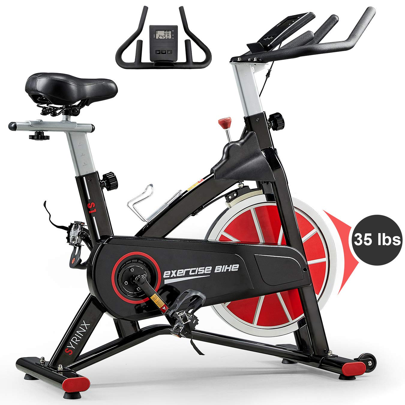 SYRINX Indoor Cycling Bike-Belt Drive