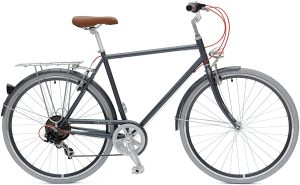 Critical cycles diamond frame touring bicycle