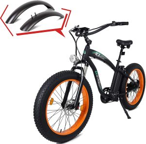 ECOTRIC powerful fat tire mountain bike