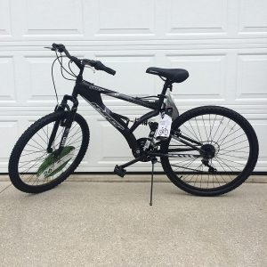 "Generic 26"" hyper havoc full suspension bike"