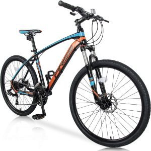 """Merax 26"""" Mountain bicycle with a suspension fork"""