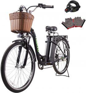 """NAKTO 26"""" 250W Cargo-electric bike"""