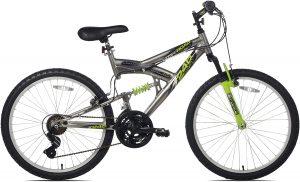 Northwoods Aluminum full-suspension bike