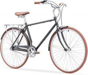 Sixthreezero ride in the city touring bike