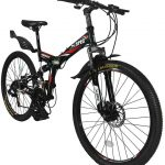 "Xspecs 26"" 21-speed folding mountain bike"