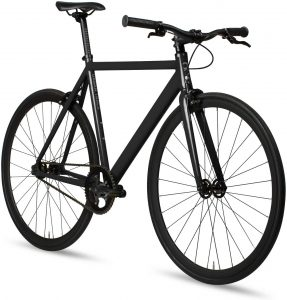 6KU fixed-gear single-speed bike