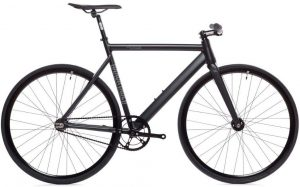 Black label 6061 fixed gear bike