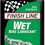 Finish line wet
