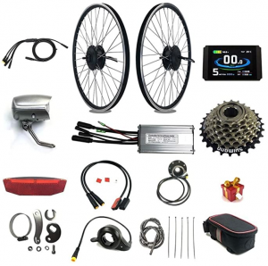 Roll over image to zoom in RICETOO Electric Bicycle Waterproof Conversion Kit