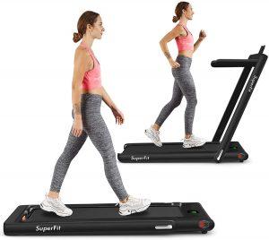 Goplus 2 folding treadmill